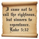call sinners to repentance - Saturday after Ash Wednesday