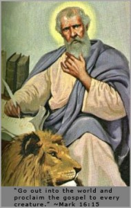 Feast of Saint Mark, evangelist